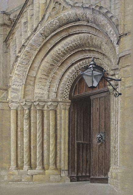 """Durham Cathedral Doorway"""