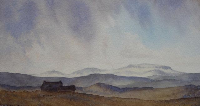"""Shower over Cross Fell"""