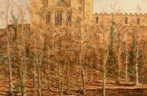 Winter Trees and Durham Cathedral