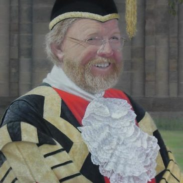 Bill Bryson Portrait Painting