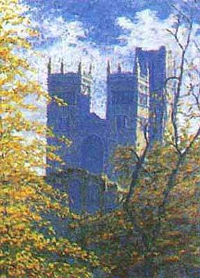 Durham Cathedral in Autumn