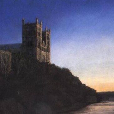 Durham Cathedral, Sunset