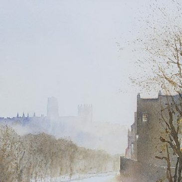 Durham Cathedral from Highgate