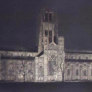 Durham Cathedral from Palace Green