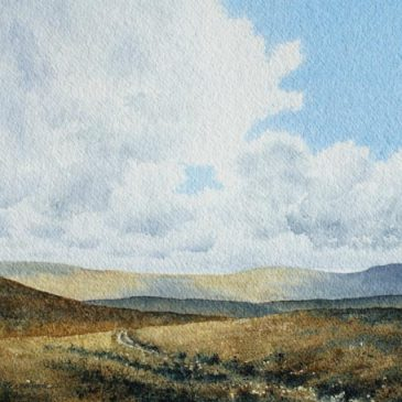 Yad Moss – painting of Upper Teesdale in the North Pennines