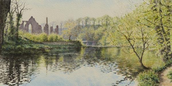 Finchale Abbey spring