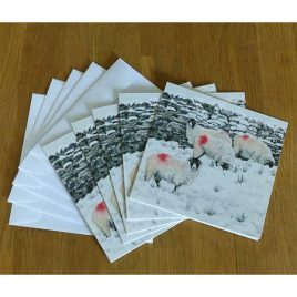 """This Winter's Must-Have Colour"" Cards (Pack of 6)"