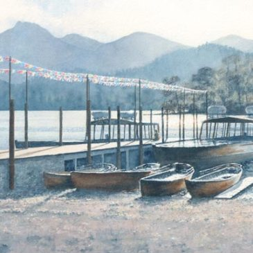 Keswick Landing Stage, Evening Calm