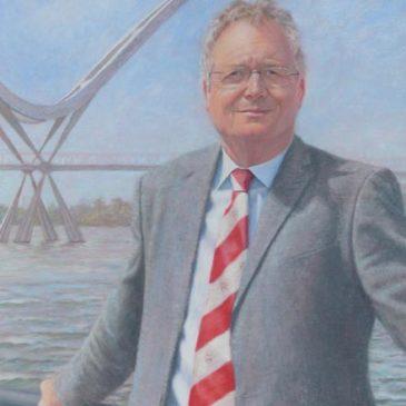 Professor Adrian Darnell Pastel Portrait