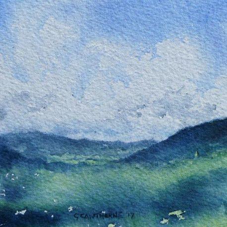 Alston Summer watercolour painting