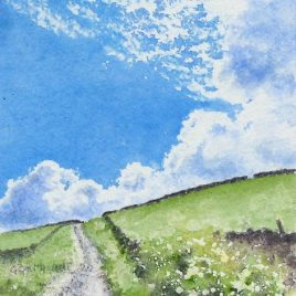 Black Band Summer watercolour