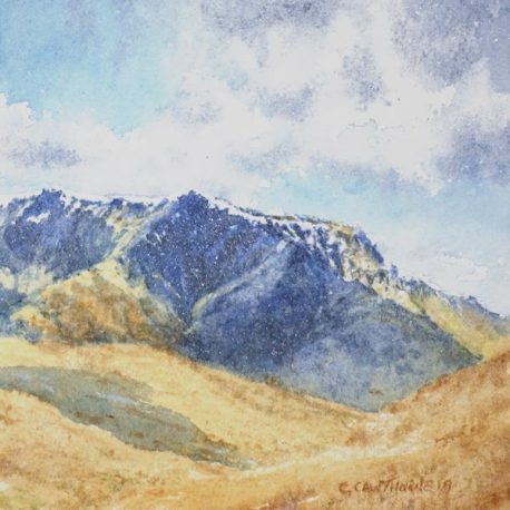 """Blencathra From Gowbarrow"" watercolour"