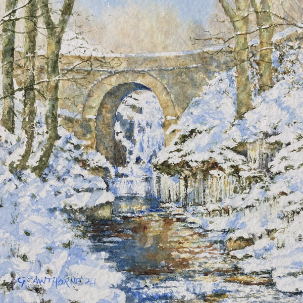 Lowhouses Bridge in Winter