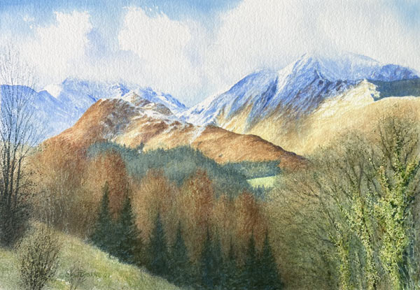 Grisedale, Cumbria painting